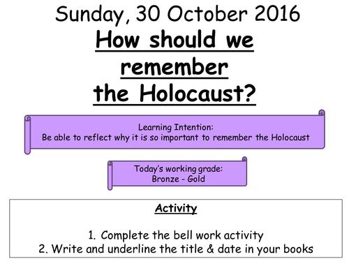Holocaust assessment