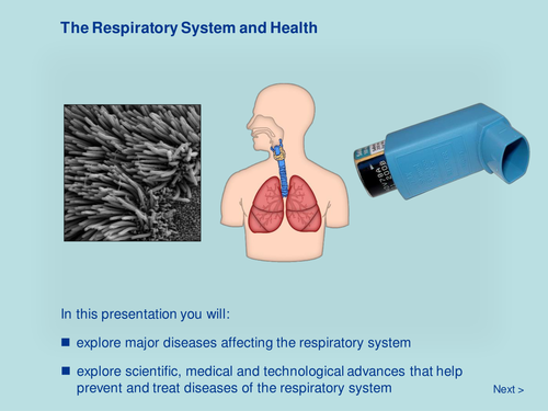The Respiratory System and Health