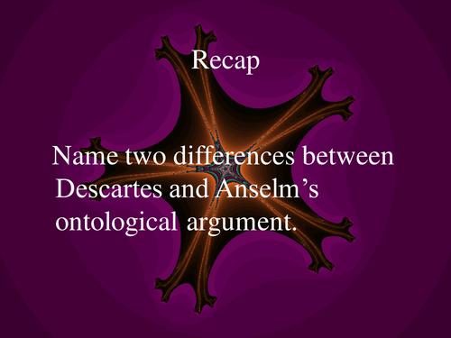 Ontological Argument Kant