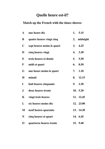 Time worksheets in french mattawa time worksheets in french ibookread PDF