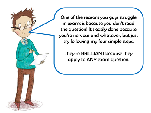 GCSE KS4 KS5 - Approaching Exam Questions - How to Read and Understand an  Exam Question