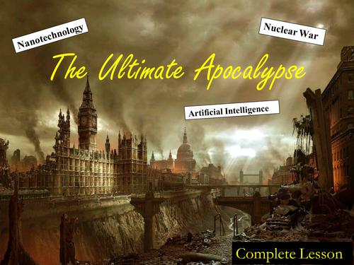 The Ultimate Apocalypse Creative Writing Lesson(s)