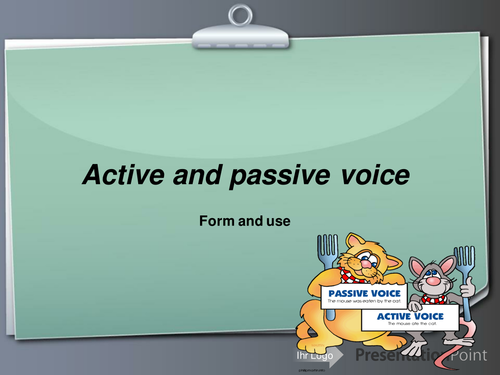 active-and-passive-voice (presentation)