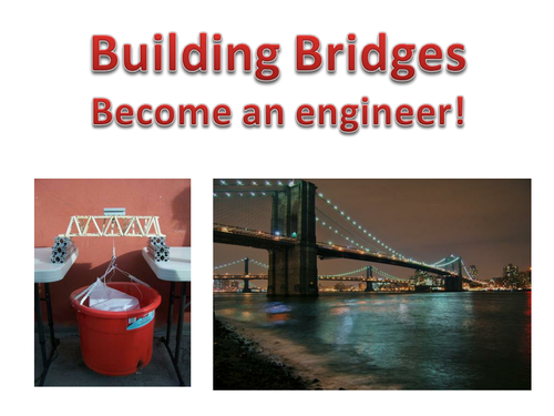 STEM Lesson - Building a bridge