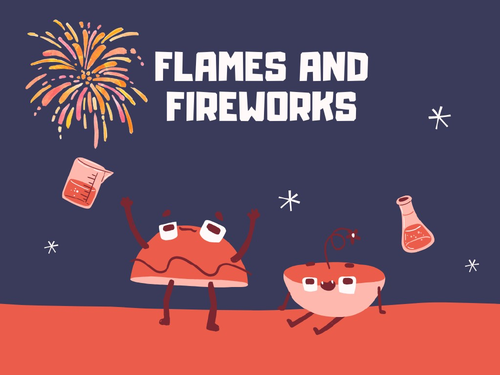 chemistry of fireworks webquest pdf