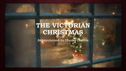 The Victorian Christmas as popularised by Dickens