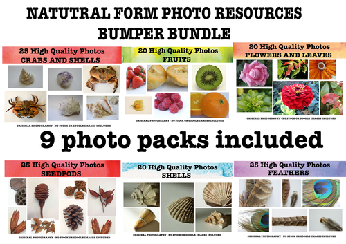 Natural forms photo bumper pack