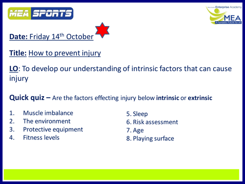 Cambridge National - Intrinsic Factors