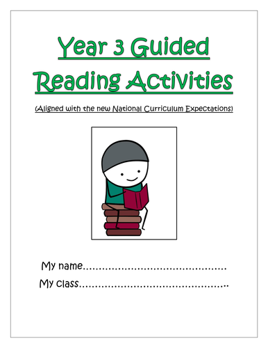 Year 3 Guided Reading Comprehension Activities Booklet! (Aligned with the  New Curriculum!)