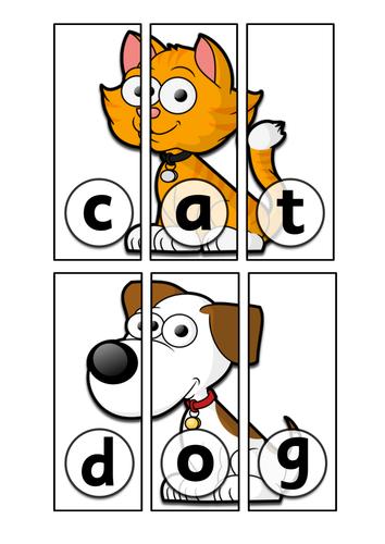 CVC - Puzzle Pictures