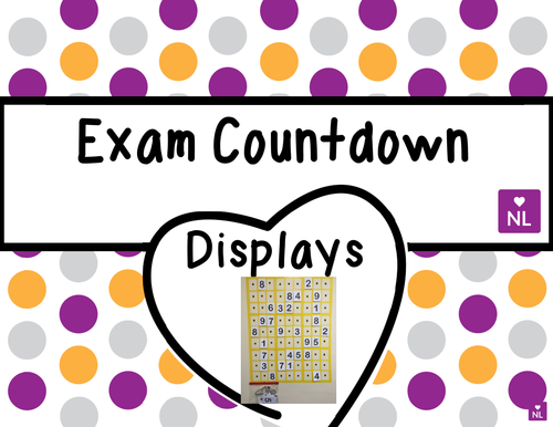 FREE Exam Countdown Display