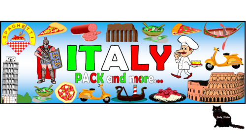 Flag of Italy Themed Pack and more….