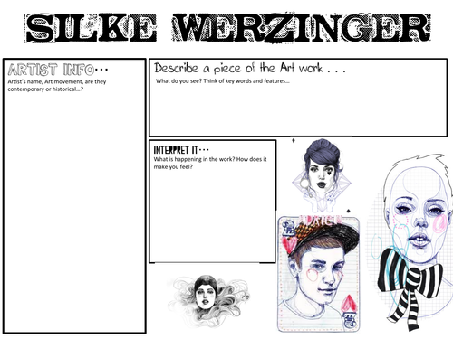 Silke Werzinger- Artist Analysis