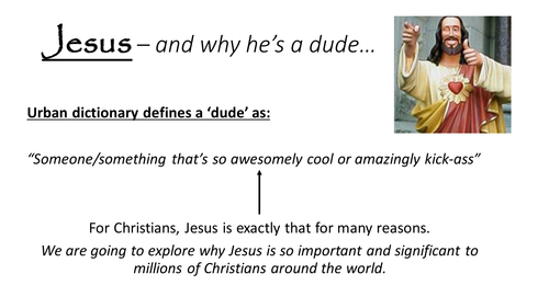 The incarnation of Jesus