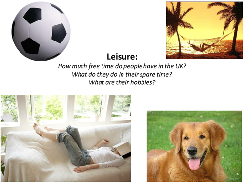 ESL speaking prompts: leisure, sports and the arts