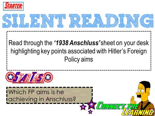 1938 Anschluss AQA old Spec