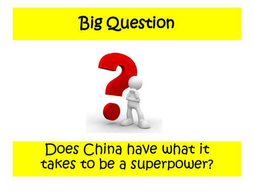 3 - How does China compare to the UK