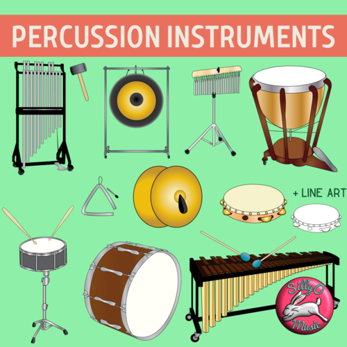 Percussion Musical Instrument Clip Art