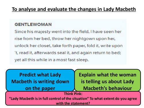 Macbeth Act 5 Revision