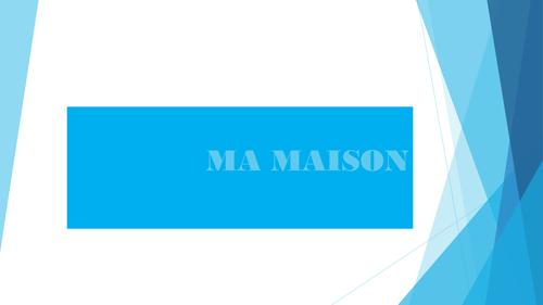 MA MAISON pptx