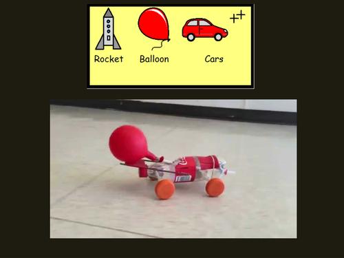 Rocket Balloon Cars