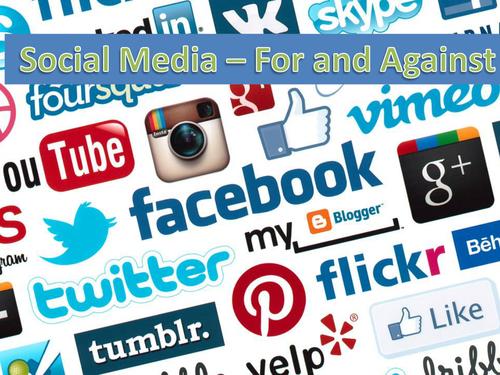 Social Media For/Against Essays