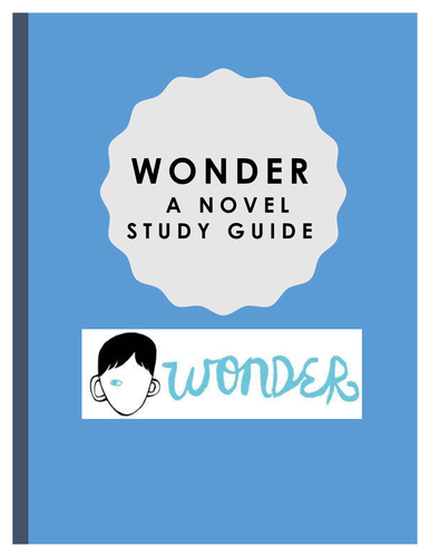Wonder Study Workbook:  R. J. Palacio