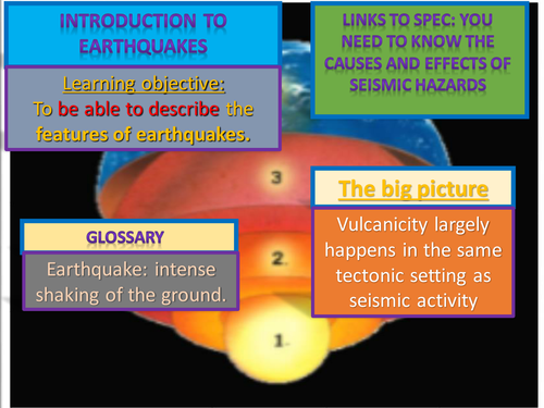 NEW AQA A LEVEL Geography; what is an earthquake and where do they occur?