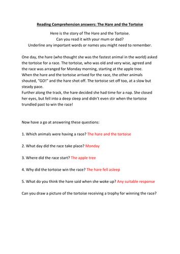 KS1 Reading Comprehensions