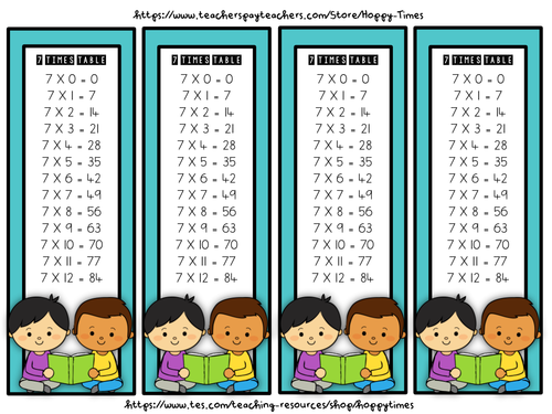 Hoppy times teaching resources tes for Multiplication table of 85