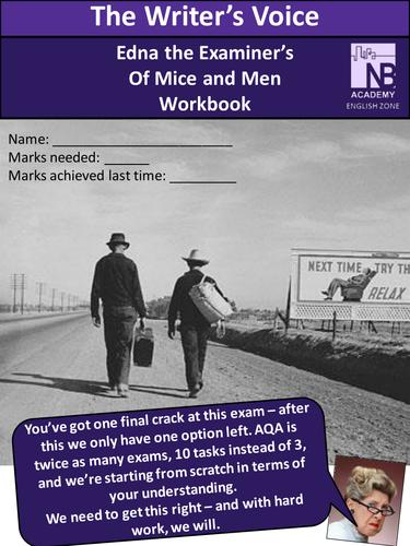 Edexcel English Language Of Mice and Men Workbook