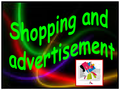 """Going Shopping"""" Fact and Opinion"""""""