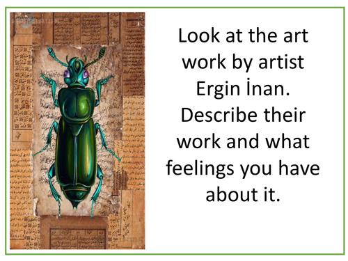 Artist Fact Sheet Lesson GCSE AQA