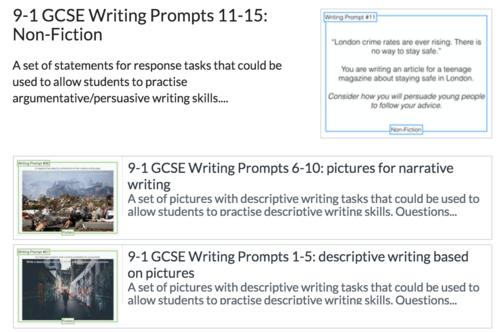 Gcse english creative writing prompts   Us government essay Can t fly  Creative WritingWriting IdeasWriting