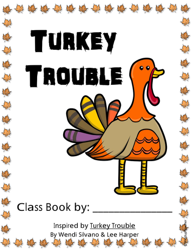 Class Book: Turkey Trouble *FREE