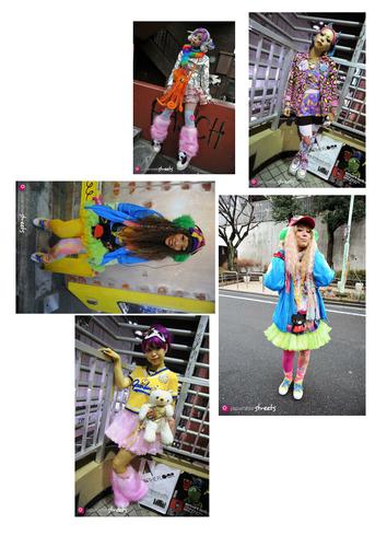 Textiles Technology Japanese Street Style Images For Mood Boards KS3 KS4