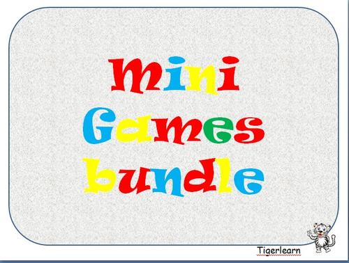 Mini games bundle Lots of games for all occassions