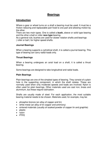 Mechanical Engineering Apprentice Fitter Revision pack