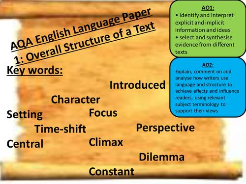 interpreting keywords in essay questions