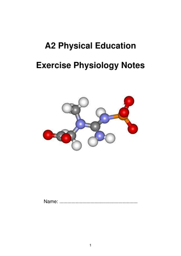 Exercise Physiology Student Work Book
