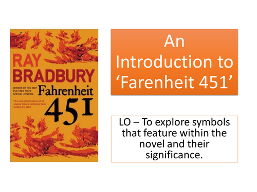 in the novel fahrenheit 451 how In spite of its primary categorization, the novel fahrenheit 451 adopts a social critic approach portraying the adversity of censorship the author, ray bradbury utilizes the genre of science fiction as a liaison platform to depict the adverse ramifications that emanated from oppressive government.