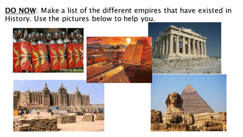 Why did the British Build an Empire?