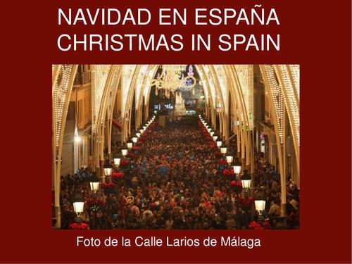 ¡FELIZ NAVIDAD! MERRY CHRISTMAS!