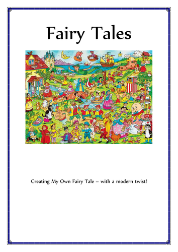 Fairy Tales: Unit of Work