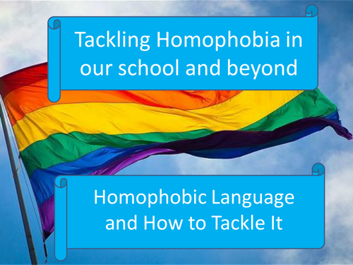 Experiences of Homophobia: Dealing with homophobic language