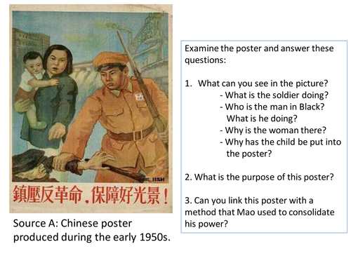 *Full Lesson* Mao's China: Removal of opposition
