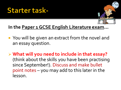 Great Expectations (new AQA spec) essay resources