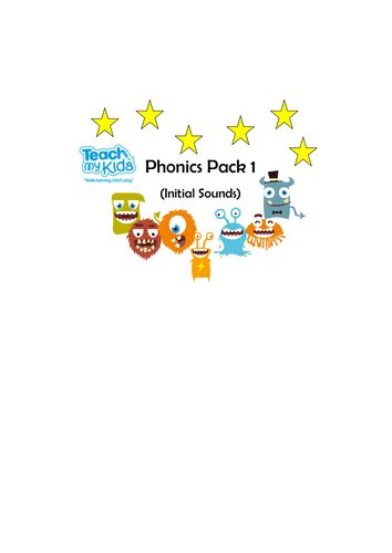 Phonics (Initial Sounds) - Pack 1