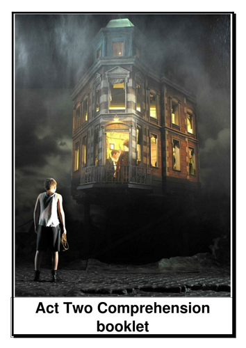 An Inspector Calls Act Two Comprehension Booklet