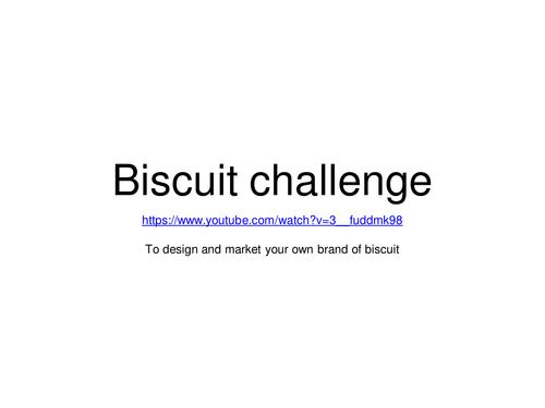 Apprentice style biscuit design